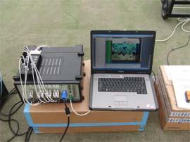 フロントエンド及び測定用パソコン