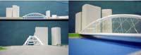 写真-2 第2案:鋼単純ニールセンローゼ橋