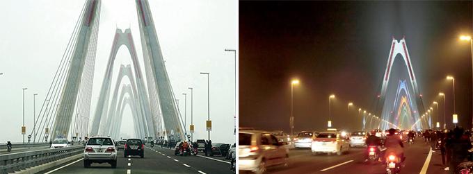 ニャッタン橋開通後の様子