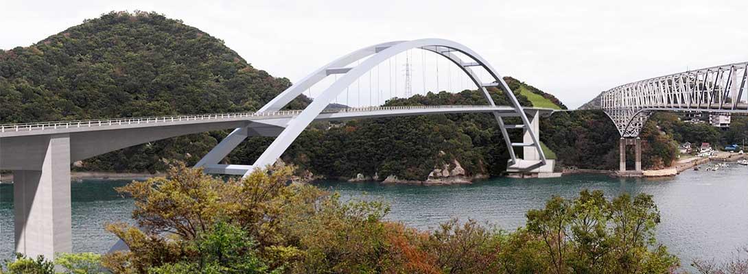 Tenjou Bridge | NIPPON ENGINEERING CONSULTANTS CO ,LTD