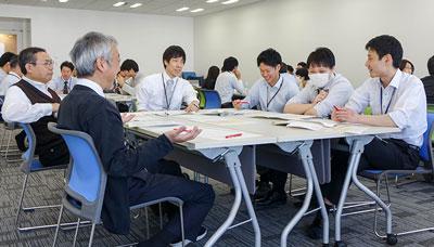 働き方について世代を超え熟議するワーキンググループ