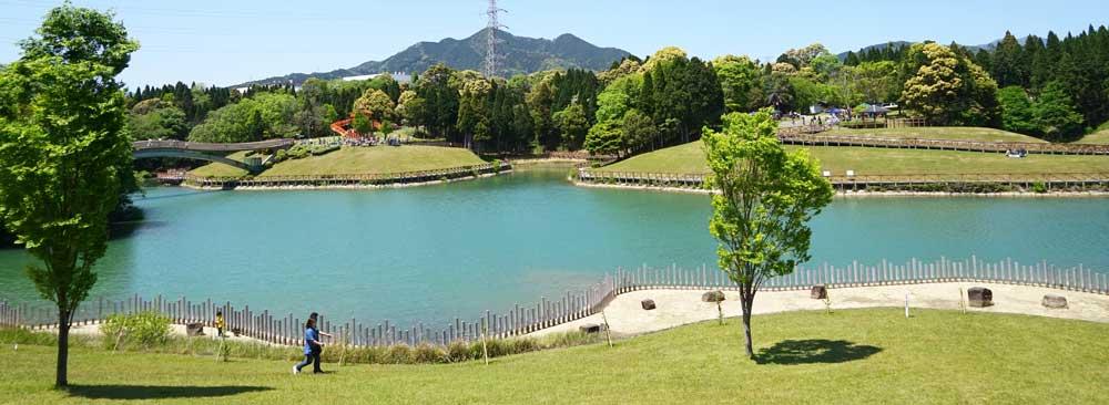 亀山サンシャインパークの高塚池
